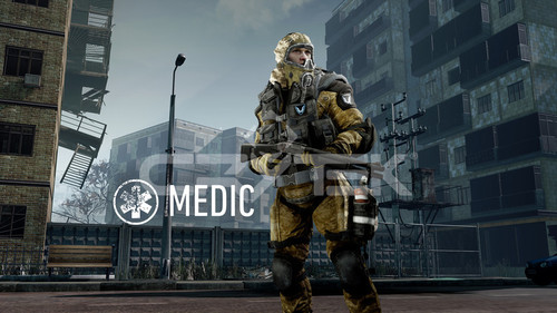 Medic with Class Tag