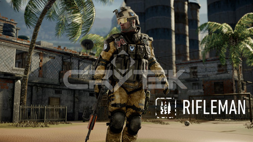 Rifleman with Class Tag