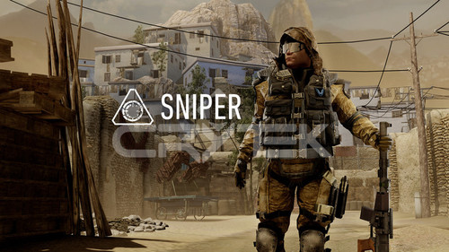 Sniper with Class Tag
