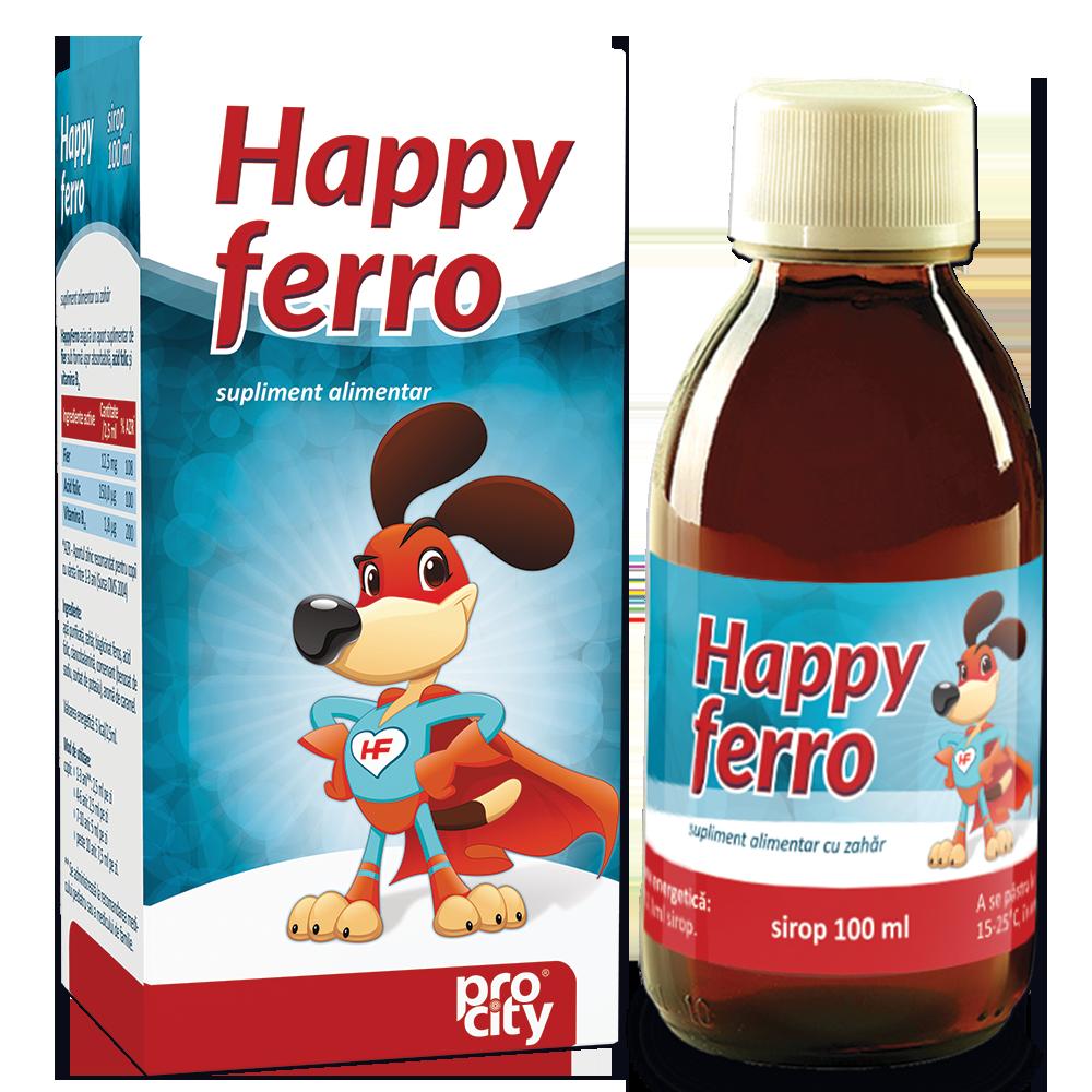 Sirop Happy ferro
