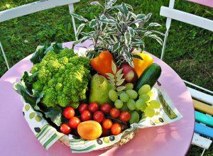 cos fructe si legume