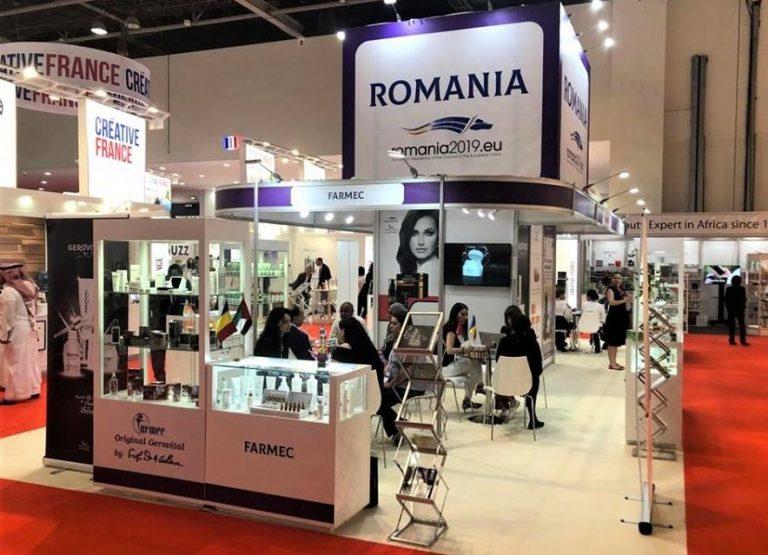 Farmec - produse cosmetice romesti la cele mai importante targuri internationale