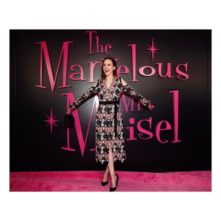 Rachel Brosnahan - The Marvelous Mrs. Maisel - Nominalizari premiile Emmy 2019