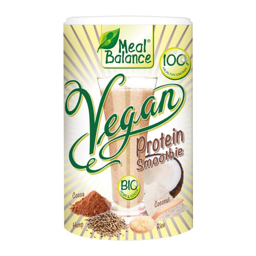 Un mic dejun sănătos - vegan smoothie