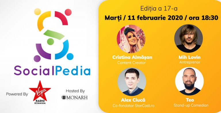 SocialPedia 17 - singura conferință lunară de social media din România