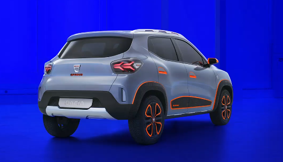 Dacia Spring - prima masina romaneasca electrica