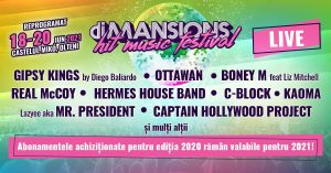 diMANSIONS festival se reprogrameaza 2021 lineup