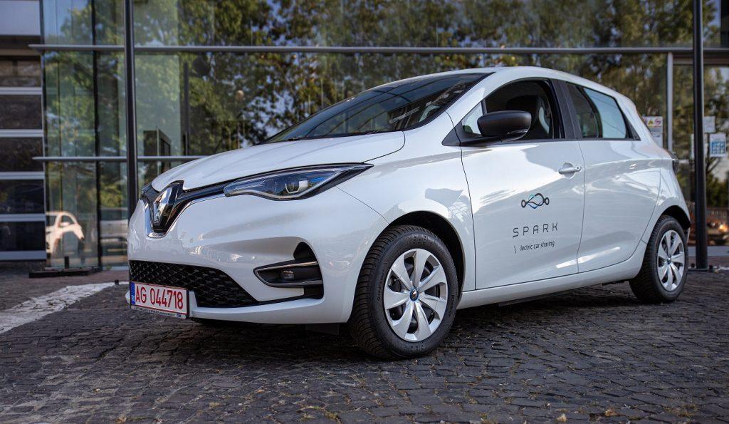 SPARK flota Renault Zoe